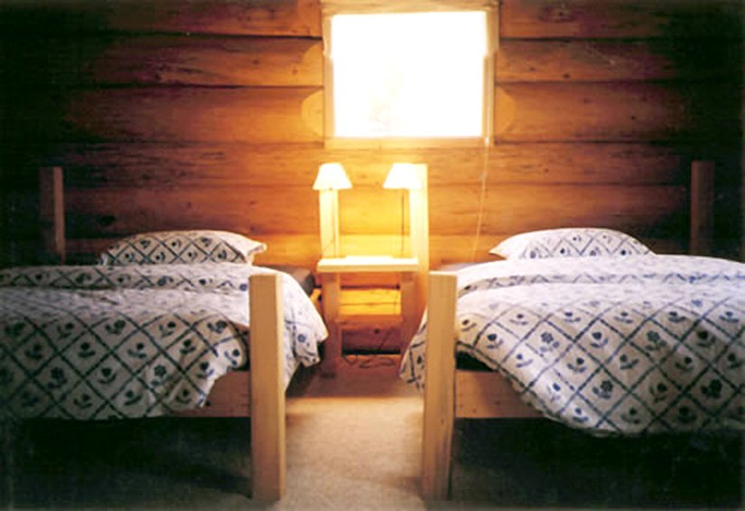 Auberge Logpile - Chambre 2 lits