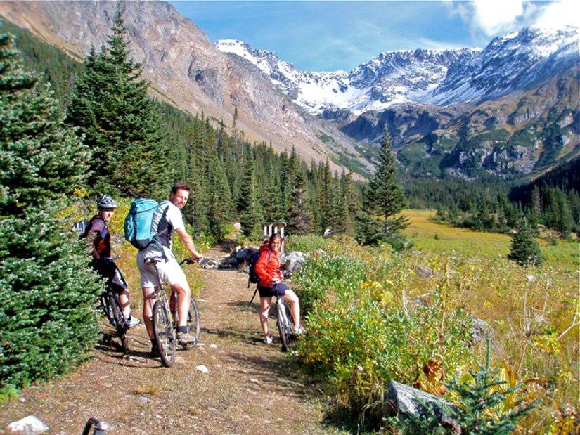 Auberge Logpile - Randonnée à vélo