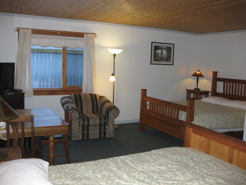 Auberge Ripley Creek - Chambre 2 lits Queen