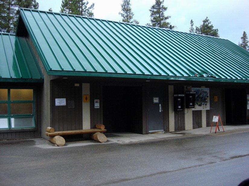 Camping du Lac Louise, Alberta
