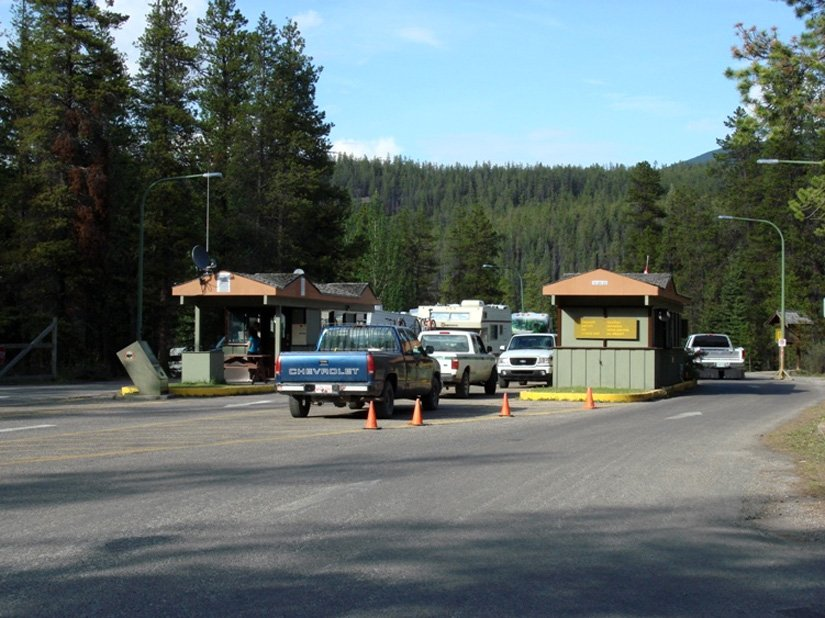 Camping du Mont Whistlers, Alberta