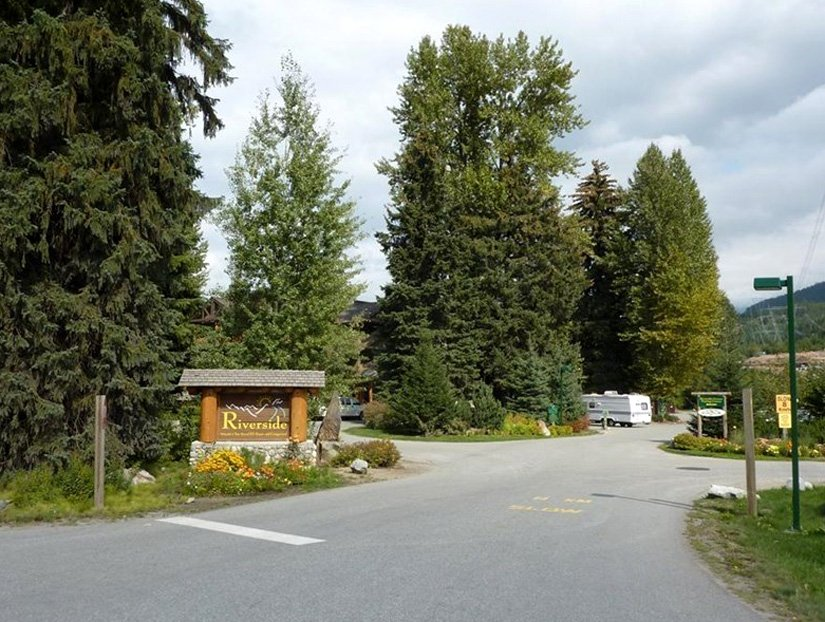 Camping Riverside - Entrée