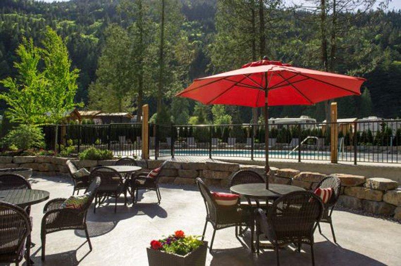 Springs RV Resort - Terrasse