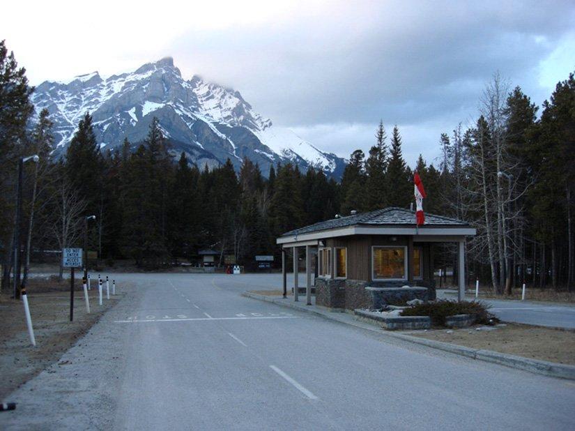 Camping Tunnel Mountain, Alberta