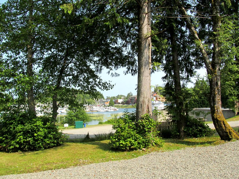 Camping Ucluelet - Vue sur le port