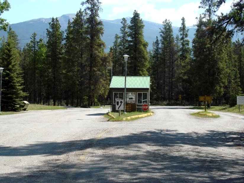 Camping Wapiti - Entrée
