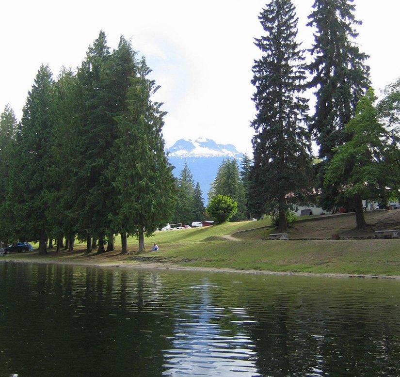 Camping Williamson's Lake