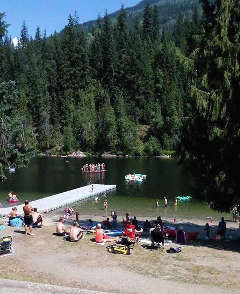 Camping Williamson's Lake - Plage