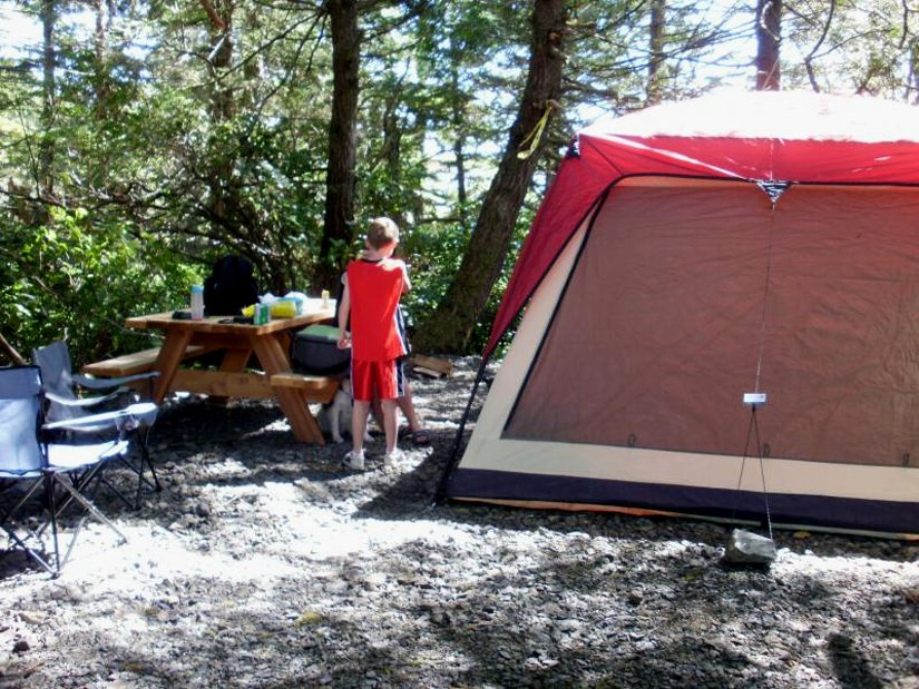 Camping Wya Point - Emplacement pour tente
