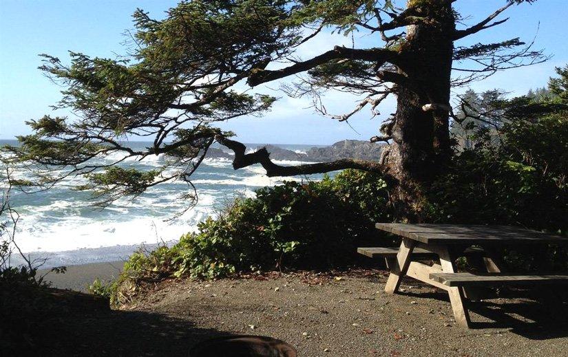 Camping Wya Point - Site avec vue sur l'océan
