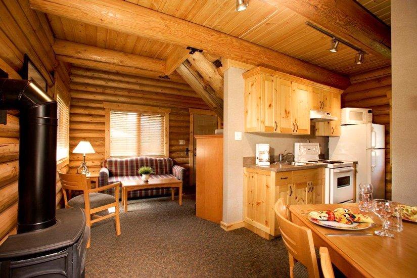 Chalets Pocahontas - Executive Log Cabin