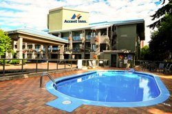 Accent Inn Kelowna - Piscine