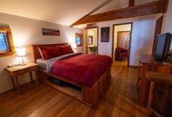 Chambre d'un chalet, Ucluelet, BC
