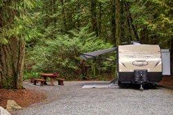 Camping Goldstream - Malahat, (BC)