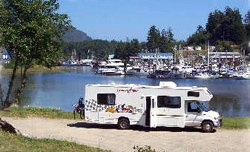 Camping Ucluelet - BC, Canada
