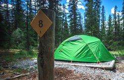 Camping Wapiti - BC, Canada