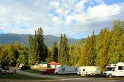 Camping Williamson's Lake - BC, Canada