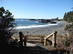 Vue du camping Wya Point - Ucluelet, BC, Canada