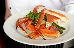 Coast Harbourside Victoria - Repas crabe