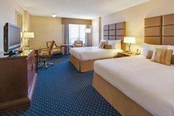 Chambre 2 lits du Coast Plaza Calgary