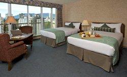 Hôtel Coast Plaza - Chambre 2 lits
