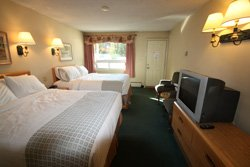 Mountaineer Lodge - Chambre 2 lits