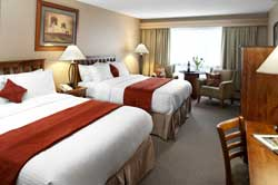 Tonquin Inn - Chambre 2 lits