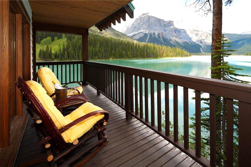 Pourvoirie Emerald Lake - Balcon