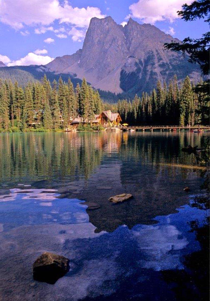 Pourvoirie Emerald Lake - Yoho National Park, BC