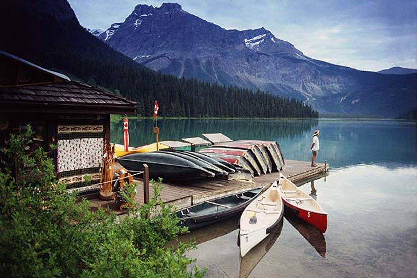 Pourvoirie Emerald Lake - Randonnée en Canot