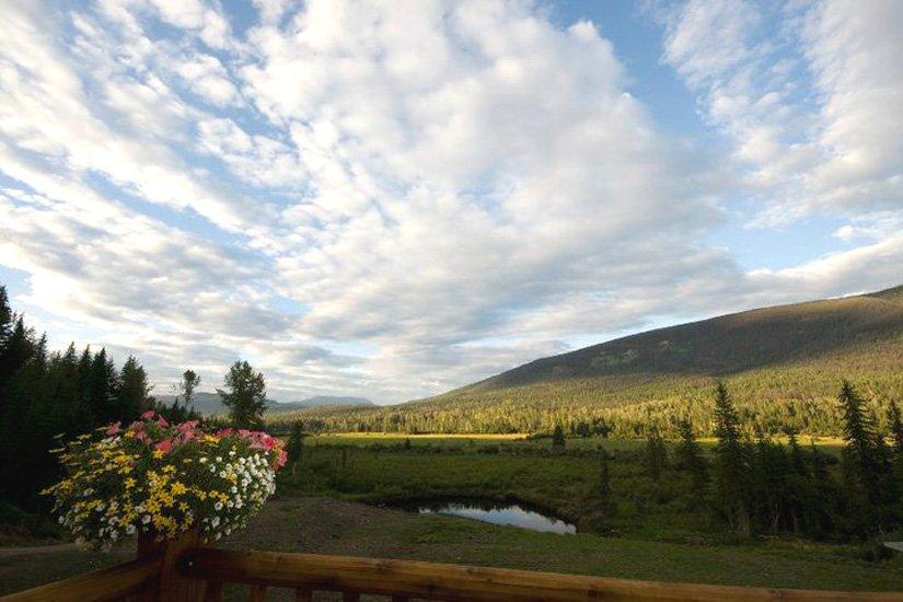 Ranch Clearwater Springs - Vue de la terrasse