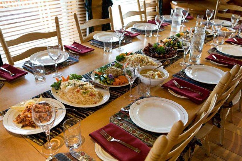 Ranch Echo Valley - Salle à manger