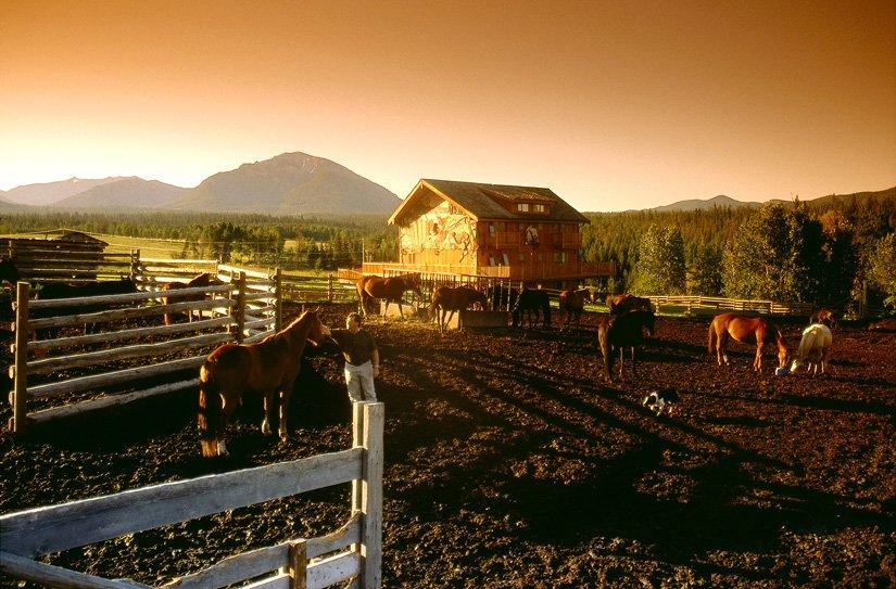 Ranch Echo Valley - Coucher de soleil