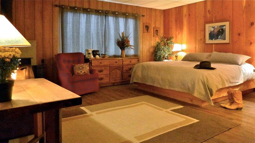 Ranch Sundance - Chambre lit King