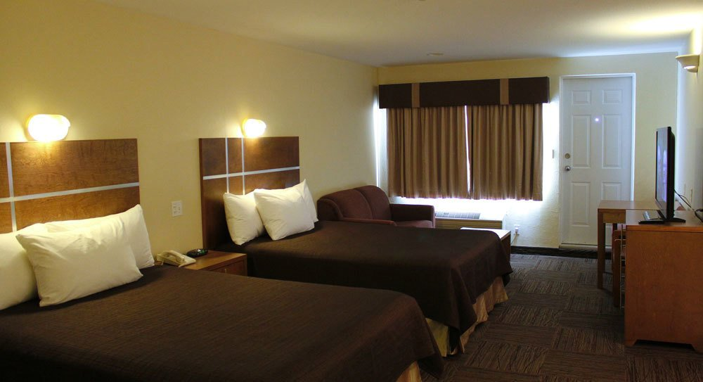 Clearwater Lodge - Chambre 2 lits
