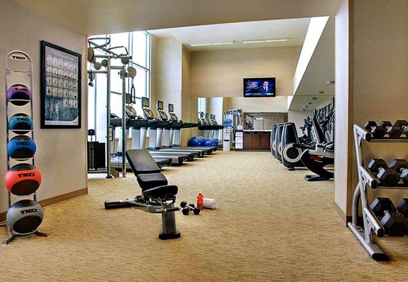 Hôtel Calgary International - Gym