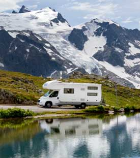 Where can I sleep with my RV in the USA ?