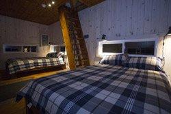 cabane de bois Lanaudiere - Chambre Cime