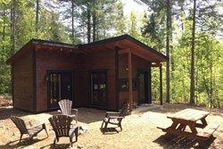 Cabane de bois Lanaudiere - Racine