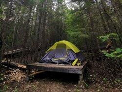 Campement rustique en Mauricie - Tente