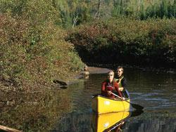 Chalet Monts-Valin - Balade en canot