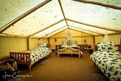 Nuitée dans la tente prospecteur