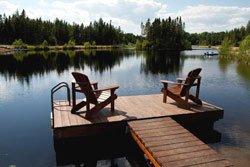 Ma cabane au Canada - Quai