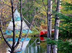 Rencontre avec les amérindiens - Lac St-Jean