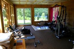 Auberge de bois rond - salle de sport
