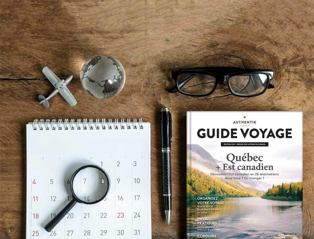 Organiser son voyage au Québec