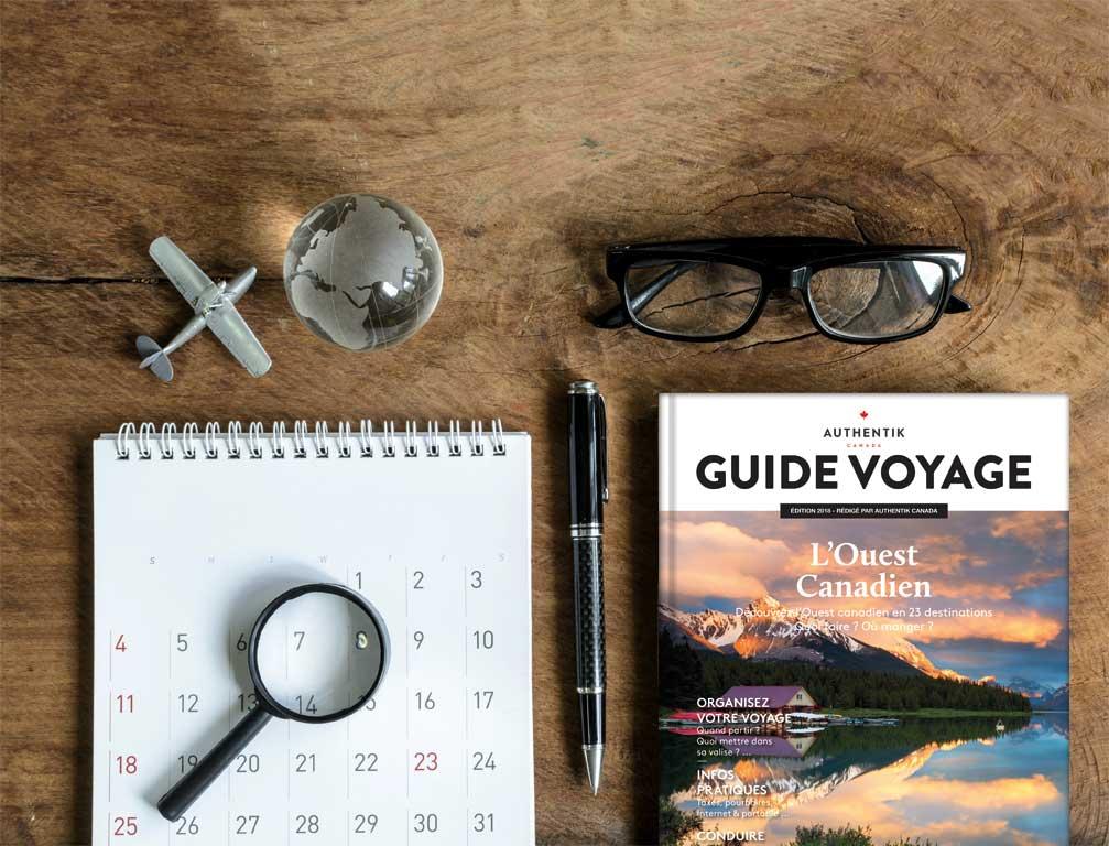 Organiser son voyage dans l'Ouest du Canada