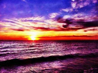 Le deuxième plus beau coucher de soleil au monde