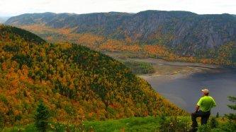 Le fjord du Saguenay en automne