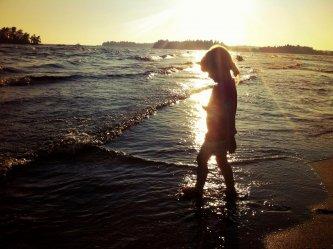 Balade au crépuscule sur les rives du Lac St-Jean